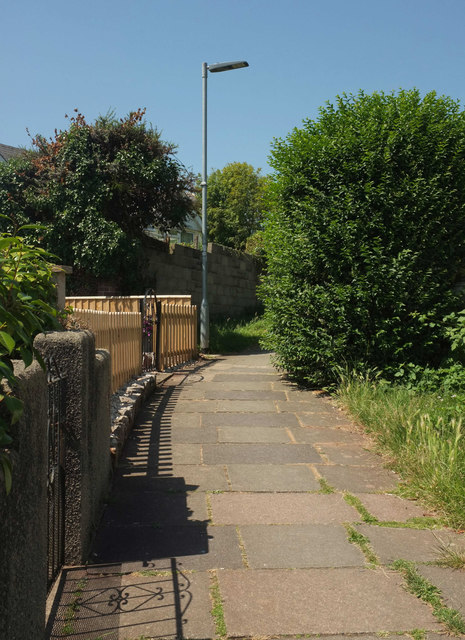 Footpath to Clennon Lane