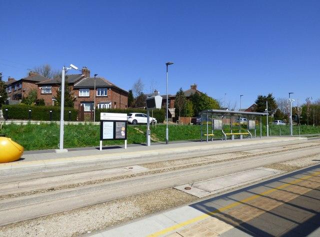 Sale Lane bus stop