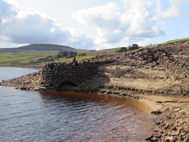 Exposed Limekiln, Scar House Reservoir