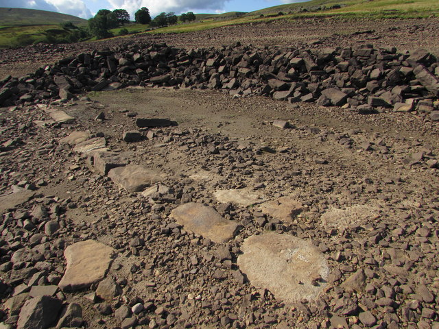 The Footing Stones of Holme Barn