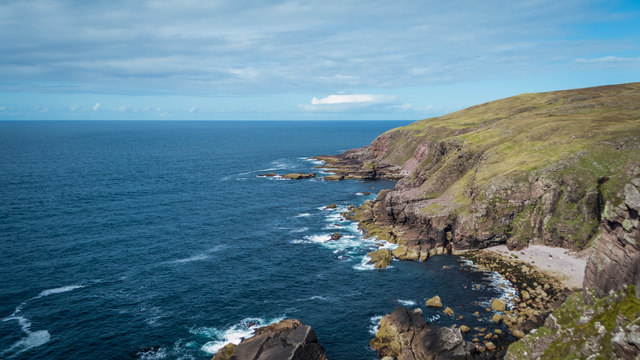 Coast north of Stoer Lighthouse