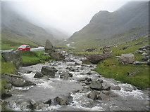 NY2114 : Gatesgarthdale Beck, Honister Pass by E Gammie