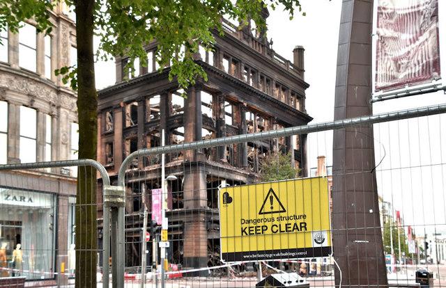 Primark Bank Buildings Fire Belfast 169 Albert