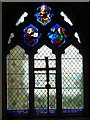 SO5085 : Window inside St. Peter's Church (South Aisle | Diddlebury) by Fabian Musto