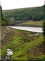 SK1793 : Howden Clough entry to Howden Reservoir by Graham Hogg