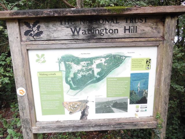 Information Board at Watlington Hill