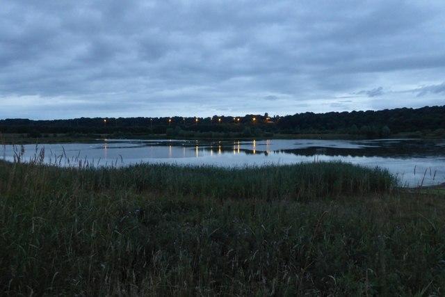 Lake at Brockholes Nature Reserve