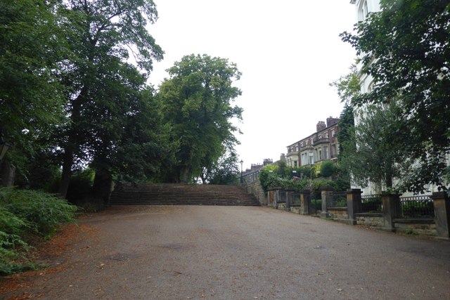 Exit from Avenham Park