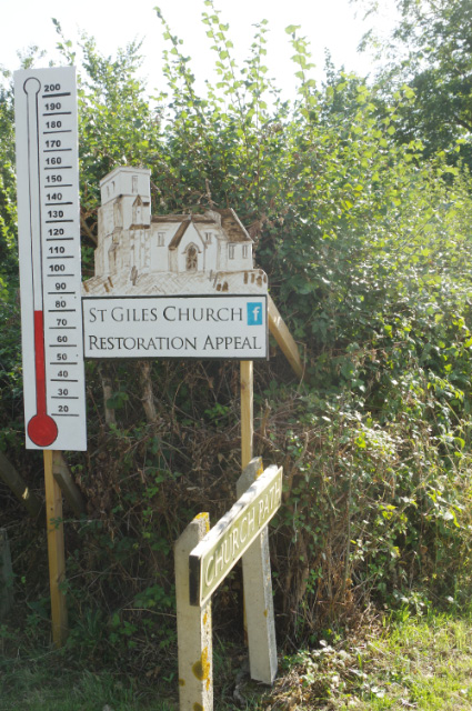 St Giles Church Restoration Appeal