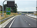 SJ7280 : Bridge over the A556 near Over Tabley by David Dixon