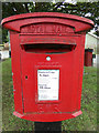 TL9326 : Wood Lane Postbox by Adrian Cable