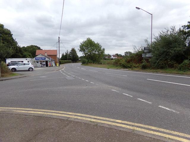 A1124 Halstead Road, Eight Ash Green
