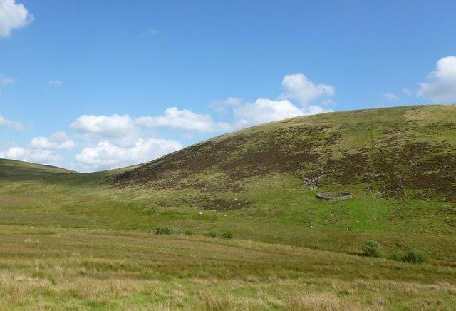 Knockenshag hillside