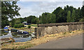 SP2266 : Station Road bridge and the Grand Union Canal at Hatton by Robin Stott