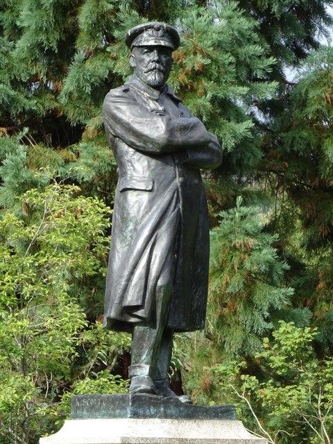 Statue of Captain John Smith