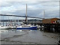 NT1278 : Port Edgar Marina by Oliver Dixon