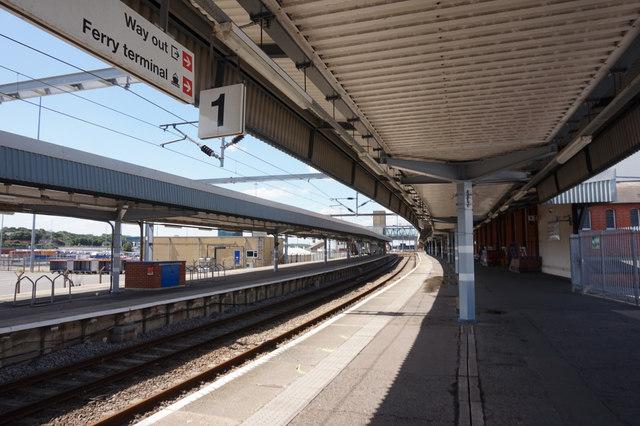 Harwich International Railway Station