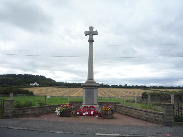 War Memorial, Byers Green