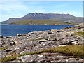 NH0997 : View north from Rubha Cadail by Oliver Dixon
