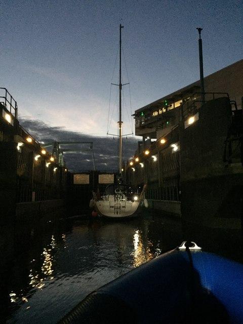 Lock 1, Cardiff Bay Barrage