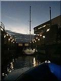 ST1972 : Lock 1, Cardiff Bay Barrage by Alan Hughes