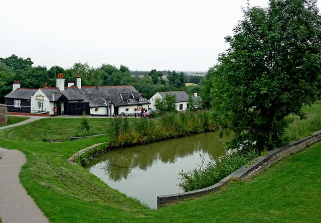 Sidepond by Foxton Locks in Leicestershire