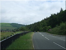 SK2085 : Ashopton Road (A6013)  near Ladybower Reservoir by JThomas