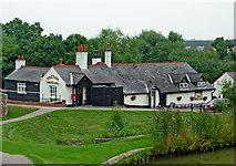 SP6989 : Foxton Locks Inn, Leicestershire by Roger  Kidd