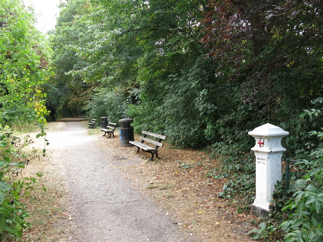 Path by the River Thames near River Park Avenue (2)