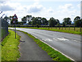 NS4666 : The A726 Barnsford Road by Thomas Nugent