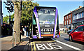 J3773 : Glider bus, Ballyhackamore, Belfast - September 2018(1) by Albert Bridge
