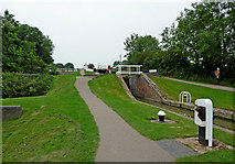 SP6989 : Foxton Locks No 15 in Leicestershire by Roger  Kidd