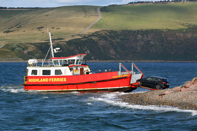 The Cromarty – Nigg Ferry