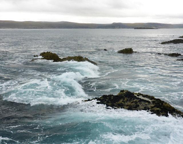 Eastern rocks of Eilean Hoan