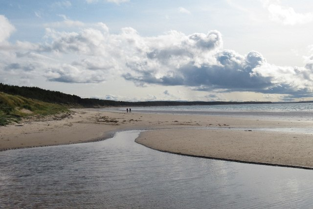 Beach, Roseisle Forest