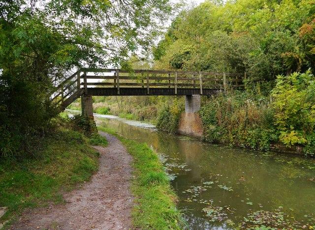 Footbridge over Wilts & Berks Canal, Royal Wootton Bassett, Wilts