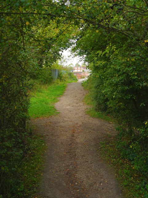 Public footpath to Royal Wootton Bassett, Wilts