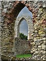 TM4464 : View to the refectory at Leiston Abbey : Week 36