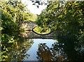 SK2475 : Bridge over the River Derwent by Graham Hogg