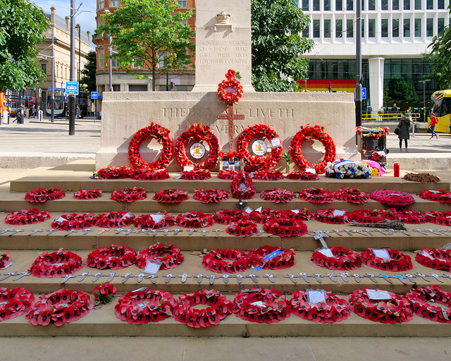 Tributes at the Cenotaph