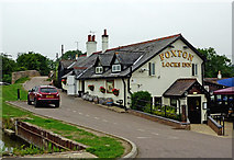 SP6989 : The Foxton Locks Inn, Leicestershire by Roger  Kidd