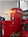 SD8010 : Type K4 Telephone Box, Bury Transport Museum by David Dixon