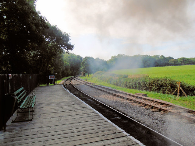 Track from Smallbrook station