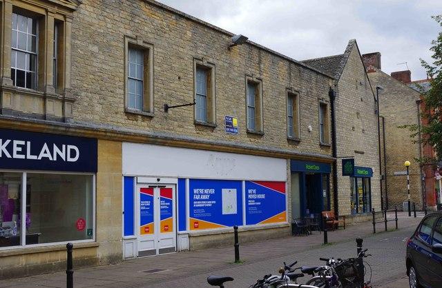Former Argos store, Market Square, Witney, Oxon