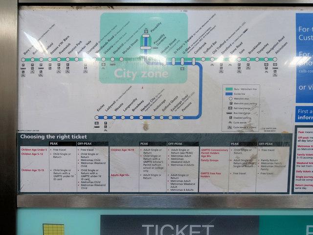 Metrolink Phase 1/2 Ticket Machine (detail 2)
