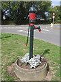SJ3564 : Bretton water pump re-painted by John S Turner