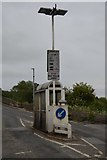 SP4408 : Toll booth, Swinford Bridge by N Chadwick
