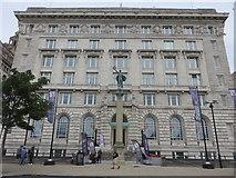 SJ3390 : The Cunard Building, Liverpool by Richard Rogerson