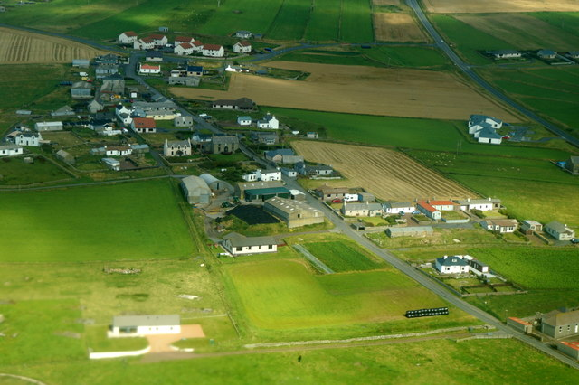 Toab from the air
