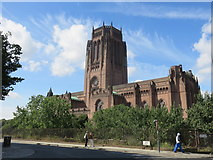 SJ3589 : Liverpool Cathedral by Richard Rogerson